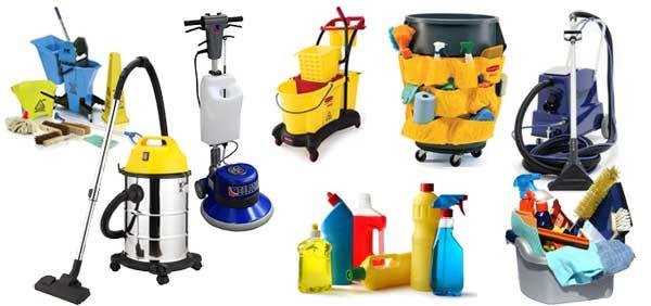 εξοπλισμος και μηχανήματα της εταιρείας καθαρισμού iShine